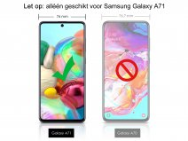 Samsung Galaxy A71 Screen Protector Curved Glass Full Cover