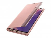 Samsung Galaxy Note 20 Clear View Cover Copper Brown (EF-ZN980CA)