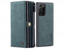 CaseMe 2in1 Multi Wallet Case Blauw - Samsung Galaxy Note 20 Ultra Hoesje