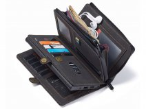 CaseMe 2in1 Multi Wallet Case Zwart - Samsung Galaxy Note 20 Ultra Hoesje