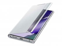 Samsung Galaxy Note 20 Ultra Clear View Cover Zilver (EF-ZN985CS)