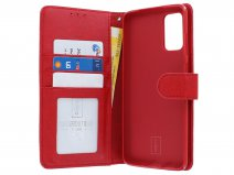Book Case Deluxe Rood - Samsung Galaxy S20+ hoesje