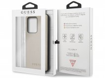 Guess Iridescent Case Goud - Samsung Galaxy S20 Ultra hoesje