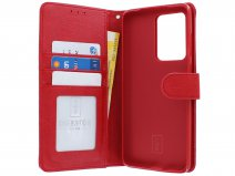Book Case Deluxe Rood - Samsung Galaxy S20 Ultra hoesje