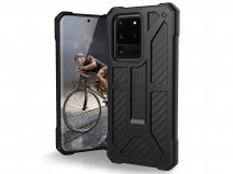 Urban Armor Gear Monarch Carbon - Samsung Galaxy S20 Ultra hoesje