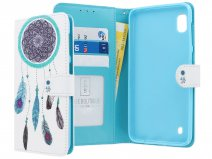 Book Case Mapje Dreamcatcher - Samsung Galaxy A10 hoesje