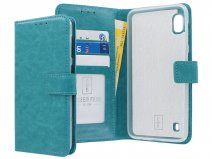 Book Case Mapje Turquoise - Samsung Galaxy A10 hoesje