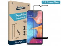 Samsung Galaxy A20e Screen Protector Curved Glass Full Cover
