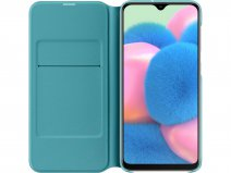 Originele Samsung Galaxy A30s Wallet Cover Hoesje Wit