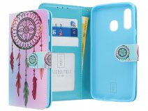 Book Case Mapje Dreamcatcher - Samsung Galaxy A40 hoesje