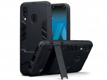 CaseBoutique Rugged Stand Case - Samsung Galaxy A40 Hoesje
