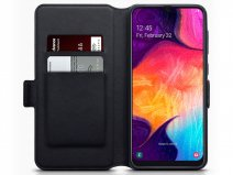 CaseBoutique Slim Wallet Case Carbon - Galaxy A50 hoesje