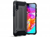 CaseBoutique Rugged Xtreme Case Grijs - Galaxy A70 Hoesje