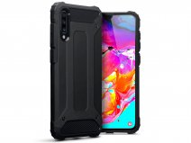 CaseBoutique Rugged Xtreme Case Zwart - Galaxy A70 Hoesje