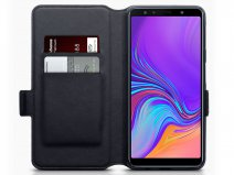CaseBoutique Slim Book Carbon - Galaxy A7 2018 hoesje