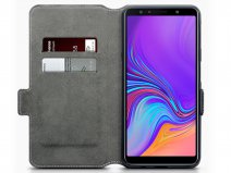 CaseBoutique Slim Book Zwart - Galaxy A7 2018 hoesje