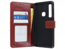 Book Case Wallet Bruin - Samsung Galaxy A9 2018 hoesje