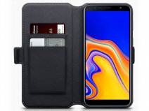 CaseBoutique Book Leer - Galaxy J4 Plus 2018 hoesje