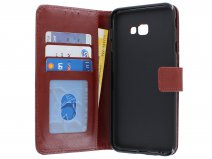 Book Case Wallet Bruin - Samsung Galaxy J4 Plus hoesje