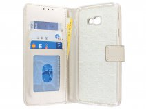 Book Case Wallet Goud - Samsung Galaxy J4 Plus hoesje