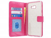 Book Case Wallet Roze - Samsung Galaxy J4 Plus hoesje