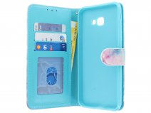 Book Case Pastel Marble - Samsung Galaxy J4 Plus hoesje