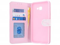 Book Case Pink Marble - Samsung Galaxy J4 Plus hoesje