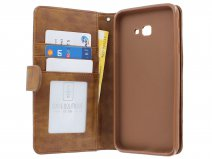 Zipper Book Case Bruin - Samsung Galaxy J4 Plus hoesje