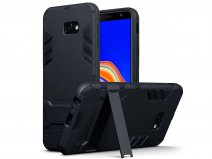 CaseBoutique Rugged Stand Case - Galaxy J4 Plus 2018 Hoesje