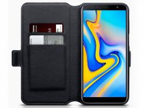 CaseBoutique Book Leer - Galaxy J6 Plus 2018 hoesje