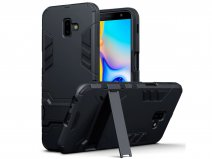 CaseBoutique Rugged Stand Case - Galaxy J6 Plus 2018 Hoesje