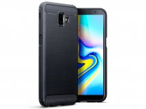 CaseBoutique Carbon TPU Skin - Galaxy J6 Plus 2018 Hoesje