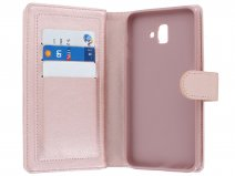 Full Wallet Case XL Rosé - Samsung Galaxy J6+ 2018 hoesje