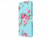 Flower Bookcase - Samsung Galaxy Note 9 hoesje
