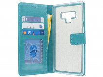 Bookcase Turquoise - Samsung Galaxy Note 9 hoesje