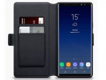 CaseBoutique Slim Zwart Leer - Galaxy Note 9 hoesje