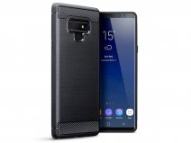 CaseBoutique Rugged Carbon Skin - Galaxy Note 9 hoesje