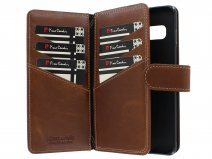 Pierre Cardin True Wallet Case Cognac Leer - Galaxy S10 hoesje