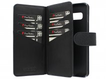 Pierre Cardin True Wallet Case Zwart Leer - Galaxy S10 hoesje