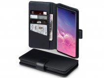 CaseBoutique Wallet Case Echt Leer - Galaxy S10+ hoesje