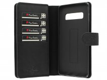 Pierre Cardin True Wallet Case Zwart Leer - Galaxy S10+ hoesje