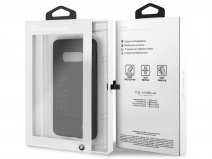 BMW Logo Leather Case - Samsung Galaxy S10e Hoesje Leer
