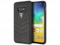Ferrari Quilted Leather Case - Samsung Galaxy S10e Hoesje Leer