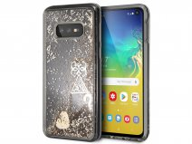 Guess Charms Liquid Glitter Case - Samsung Galaxy S10e hoesje
