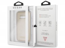 Guess Iridescent Case Goud - Samsung Galaxy S10e hoesje