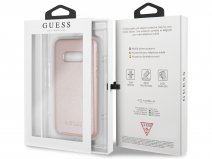 Guess Iridescent Case Rosé - Samsung Galaxy S10e hoesje