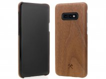 Woodcessories EcoCase Slim Walnut - Samsung Galaxy S10e hoesje
