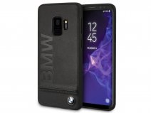 BMW Logo Leather Case - Samsung Galaxy S9 Hoesje Leer