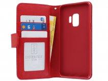 4f65ead81d3 ... Zipper Wallet Case Rood - Samsung Galaxy S9 hoesje