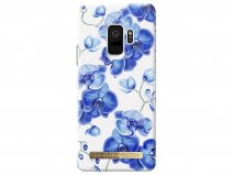 iDeal of Sweden Baby Blue Orchid - Galaxy S9 hoesje